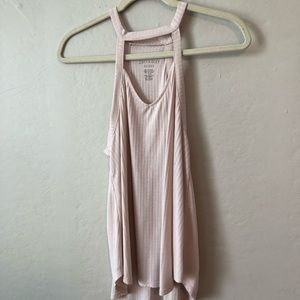 AMERICAN EAGLE | Ribbed Strapy Tank